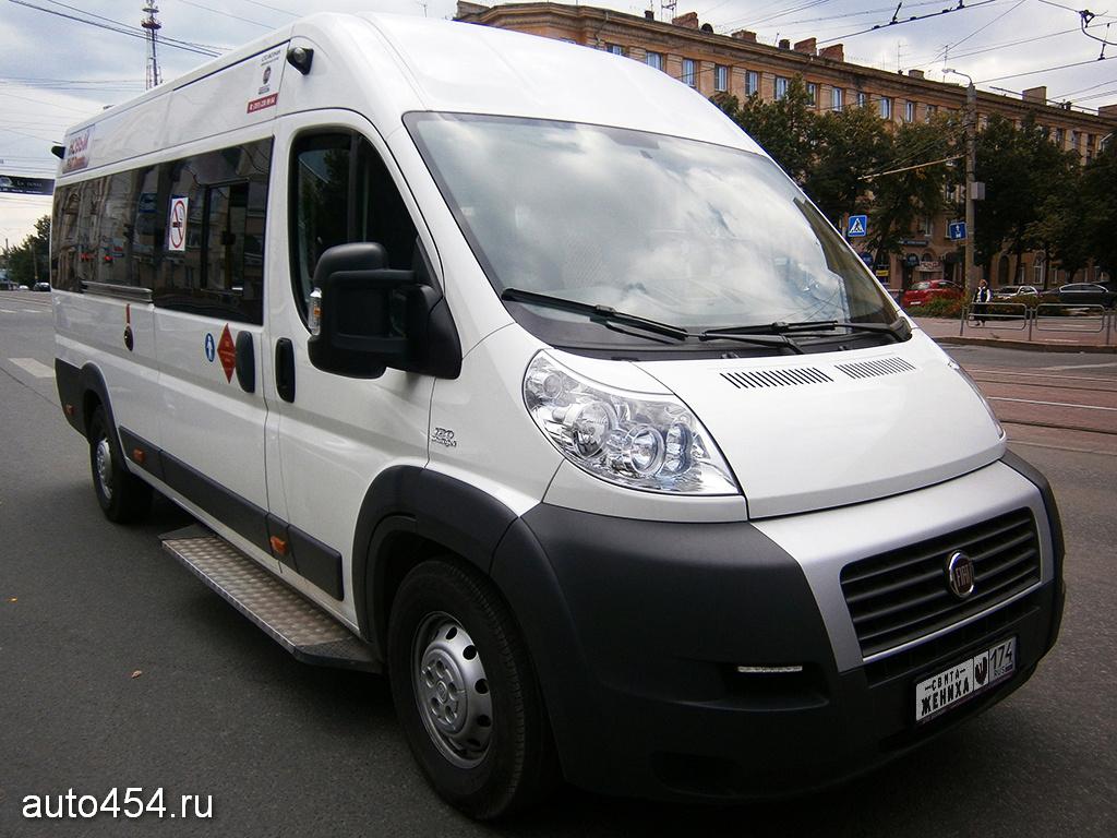 схема салона автобуса фиат 14мест